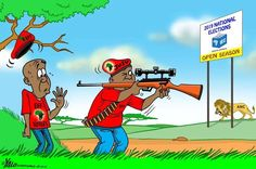 Julius Malema takes aim for the national elections. But who is he targeting, wonders Yalo?