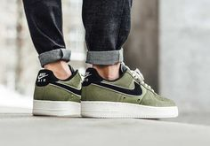 """#sneakers #news  Nike Puts """"Palm Green"""" Basketball Leather Uppers On The Air Force 1"""