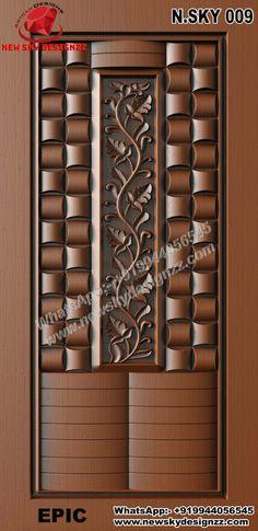 Single Door Design, Front Door Design Wood, Door Gate Design, Door Design Photos, Classic House Exterior, Kitchen Room Design, Wood Carving Art, Single Doors, Wooden Doors