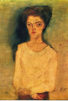 Oskar Kokoschka - Martha Hirsch 1909