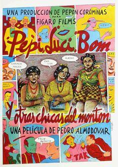 "El Acorazado Cinéfilo - Le Cuirassé Cinéphile: ""Pepi, Luci, Bom..."" (1980) - Rocío Doménech. Soci..."