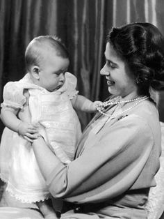 15 Vintage Royal Baby Photos