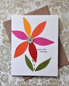 Birthday Card  Handmade Greeting Card