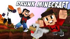Drunk Minecraft #50 | DON'T KILL THE CHICKEN Drunk Minecraft, Markiplier, Super Funny, Season 3, Youtubers, Fan Art, Chicken, Bob, Gaming