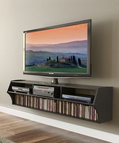 Take a look at this Black Altus 58.5'' Wall TV Console on zulily today!