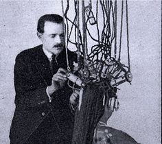 Nestle Permanent Hair Wave. October 8, 1905, German hairdresser Karl Ludvig Nessler (Nestle) demonstrated his new invention for permanent curling in London. The machine heated up the hair to about 212° F and the procedure took about six hours!