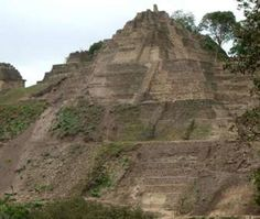 Just over 5 years ago that researchers in Mexico discovered an enormous pyramid of the Maya civilization in Toniná, Chiapas. The pyramid had remained concealed under what was believed to be a natural hill for around 1,700 years. Excavated by archaeologists from the National Institute of Anthropology and History (INAH), researchers have confirmed it as the largest pyramid in Mexico; even taller than Teotihuacan's enormous Pyramid of the Sun. (Image: Tonina Pyramid in Mexico)