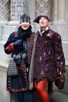 Here is a quick view of two of New York's most stylish and innovative women, Tziporah and Debra.I have been an admirer of Tziporah Salamon's for a long time and just recently found the perfect opportunity to meet with her. A few weeks ago Tziporah was sent a link to a post I had done on Debra and was immediately struck by her style and... Read More