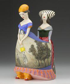 Las oníricas esculturas de cerámica del artistaSergei Isupov.