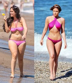 English actress, Vicky Pattison Diet Plan and Workout Routine. Change from size 16 to size 6...