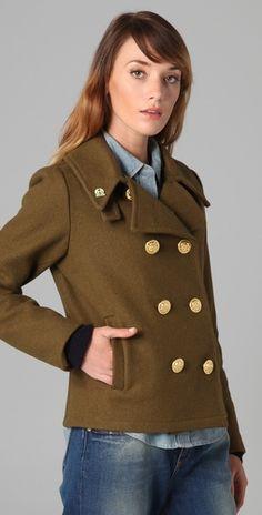 Women's Sperry x Fidelity Hooded Stadium Coat | Coats, Stadia and ...