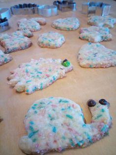 Biscotti frolla alla panna