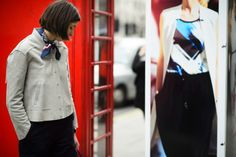 On the Streets of London Fashion Week Fall 2015 - London Fashion Week Fall 2015 Street Style Day 1-Wmag
