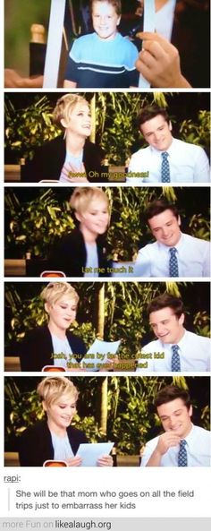 When Jennifer Lawrence becomes a mom