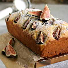 Honey and Rosemary Upside Down Fig Cake | Recipe | Fig Cake, Figs and ...