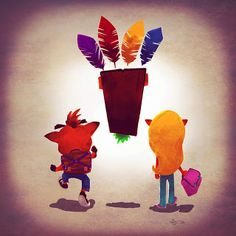 Crash Bandicoot Family