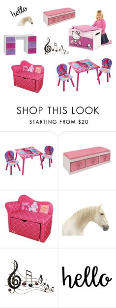 """""""Kids Storage And Furniture"""" by grafic-703 ❤ liked on Polyvore featuring interior, interiors, interior design, home, home decor, interior decorating, DreamWorks Trolls, Hello Kitty, Badger Basket and Benzara"""