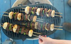 Marinated venison kebabs with vegetables. Recipe on http://honest-food.net