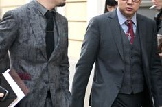 Suit on the left please . . .