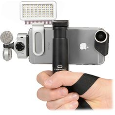 B&H Photo Video Pro Video Shooting Kit for iPhone Plus - Telefon Iphone Camera Lens, Android Camera, Camera Apps, Camera Gear, Bh Photo, Photo Lens, Photography Gear, Iphone Photography, Smartphone