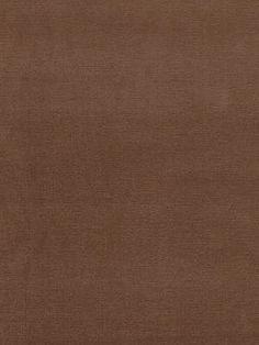 Schumacher Fabric Gainsborough Velvet-Brown Sugar $116.50 per yard #interiors #decor #brown #fabric #chocolate #ValentinesDay #Vday #decorating #sweet #smooth #cottonfabrics