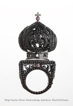 Axenhoff Jewelry depicting Palace of Facets or the white stones of Kolomenskoye