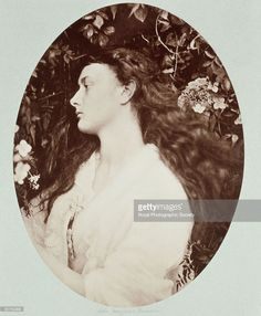 Photograph by Julia Margaret Cameron (1815-1879) of Alice Liddell (1852�1934) who, as a child, was photographed by Lewis Carroll (Charles Dodgson). He wrote �Alice in Wonderland� and �Through the Looking Glass� for her. Alethea is an ancient Greek the word meaning honesty and sincerity. Cameron's photographic portraits are considered among the finest in the early history of photography. She set up a private studio at her Isle of Wight home at the age of 48, after her daughter gave her a…