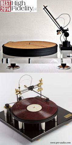 Airbearing tangential turntables, models ASP1501 and ATM1401, www.pre-audio.com