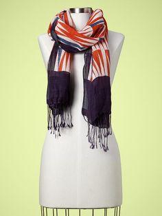 Gap printed scarf $30