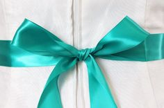 From traditional to bohemian, floor-length to tea-length, A-line to ball gown, the dress a bride chooses for her wedding day is an important personal reflection of her unique. Wedding Sash, Bridal Sash, Diy Wedding, Wedding Dresses, Wedding Ideas, How To Tie Ribbon, Ribbon Bows, Lace Garter, Something Blue