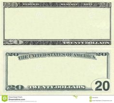 Photo about Clear 20 dollar banknote pattern for design purposes. Image of business, message, dollar - 20540934 Play Money Template, Id Card Template, Card Templates, Printable Checks, Printable Tags, Diamond Drawing, Money Order, 100 Dollar, Business Money