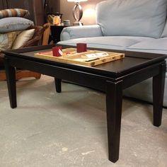 Ebony Coffee Table. Looks great!
