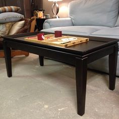 Ebony Coffee Table. Looks great!