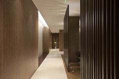 PORTFOLIO - Caohejing - Robarts Interiors and Architect Dramatic hallway--lights in floor