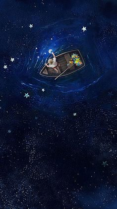 Fantasy Starry Background Fantasy Starry Background More Than 3 Million Png And Graphics Resource At Pngtree Find The Best Inspiration You Need For Your Project Star Ferry Star Water Night Sky Romantic Star Child Background Cartoon Childlike Hand Painted Scenery Wallpaper, Galaxy Wallpaper, Wallpaper Backgrounds, Amazing Wallpaper, Wallpaper Ideas, Wallpaper Art, Art Anime, Anime Kunst, Anime Art Fantasy