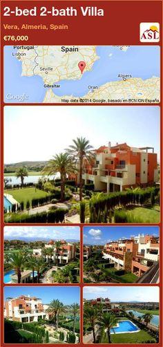 2-bed 2-bath Villa in Vera, Almeria, Spain ►€76,000 #PropertyForSaleInSpain