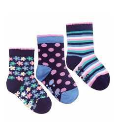 Take a look at this Blue Stripe Socks Set by JoJo Maman Bébé on #zulily today!