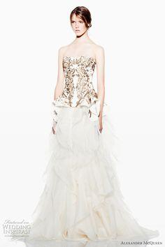 alexander mcqueen wedding dress 2012