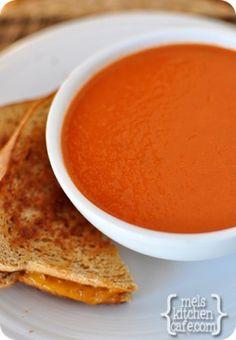melskitchencafe.com: Classic Tomato Soup