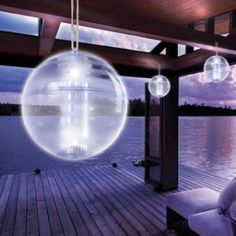 This Solar Orb LED is fun and creative! Comes from the Order Home Collection and is available on Overstock.com.