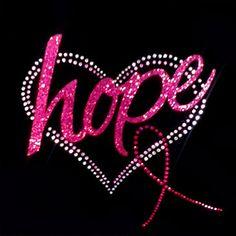 grieve for keisha Breast Cancer Awareness Hope Pink Ribbon Tee- Rhinestones & Glitter Mixed Media Tee - BLING! Breast Cancer Quotes, Breast Cancer Shirts, Breast Cancer Support, Breast Cancer Survivor, Breast Cancer Awareness, Wigs For Cancer Patients, Cancer Tattoos, Tips Belleza, Mixed Media