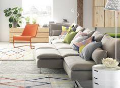 SÖDERHAMN modulaire zitbank | #IKEA #zitbank #woonkamer