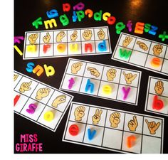 Sight Words Practice with a fun sign language twist