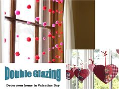 Decor your home beautifully for this valentine's day with #double   #glazing  installation. Double glazed windows will give a striking look to your home.