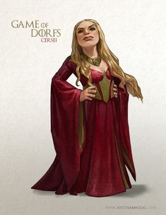 Some daft fanart of Game of Thrones, that started with wondering how Drogo would look on a shetland pony.