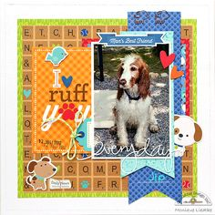 Doodlebug Design Inc Blog: Puppy Love Collection: I Ruff You by Monique