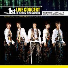 TVXQ - 1st Live Concert Rising Sun