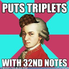 oh Mozart....
