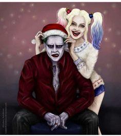 Joker and Harley Quinn -Christmas