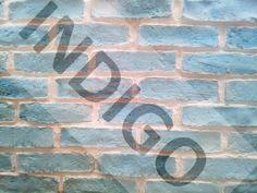 Bezkresny Błękit Cegła Gipsowa Manufaktura Form